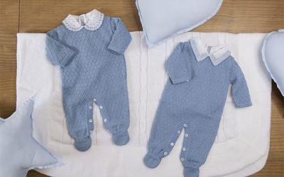 4 roupas de tricô para bebê